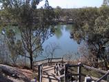 Red Cliffs / Red Cliffs Scenic Reserve / Stairway down to Murray River, Snake Gully Car Park off Woomera Av
