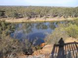Mildura / Merbein - river lookout off Forbes Drive / Easterly view across Murray River