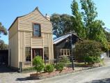 Moe / Gippsland Heritage Park, Lloyd Street / 'Loren' iron house and coach builder's workshop