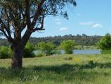 Moe / South side of Lake Narracan along Hayes Road / North-easterly view towards Lake Narracan from end of Hayes Rd