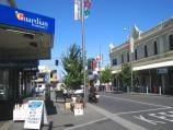 Moonee Ponds / Shops and commercial centre, Puckle Street and adjoining streets / View east along Puckle St towards Mt Alexander Rd