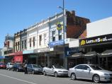Moonee Ponds / Shops and commercial centre, Puckle Street and adjoining streets / View east along Puckle St towards Pratt St