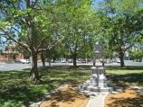 Moonee Ponds / Mount Alexander Road / Memorial, view south-east along gardens in centre of Mt Alexander Rd towards Kellaway Av