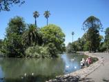 Moonee Ponds / Queens Park / View south along west side of lake
