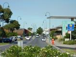 Morwell / Shops and commercial centre, Commercial Road, Tarwin Street and George Street / View east along Commercial Rd at Maryvale Cr