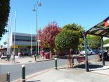 Morwell / Shops and commercial centre, Commercial Road, Tarwin Street and George Street / View east across Tarwin St at Commercial Rd