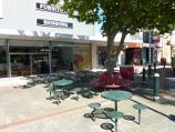 Morwell / Shops and commercial centre, Commercial Road, Tarwin Street and George Street / Outdoor seating, south side of Commercial Rd between Chapel St and Tarwin St