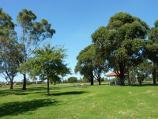 Morwell / Morwell Civic Gardens and Kernot Lake, Princes Drive / Picnic and BBQ area, southern side of Lake Kernot near Kernot Hall
