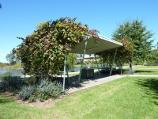 Morwell / Morwell Civic Gardens and Kernot Lake, Princes Drive / BBQ shelter, north side of Lake Kernot