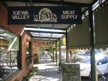 Mount Beauty / Shops and commercial centre / Verandah under shops, Hollonds St