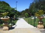 Mount Dandenong / Mount Dandenong Observatory - English Gardens / Steps at entrance to gardens