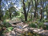Mount Dandenong / Mount Dandenong Observatory - English Gardens / Footbridge across creek