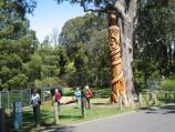 Mount Dandenong / Mount Dandenong Observatory - surroundings / The Australiana Tree next to Sky High Maze