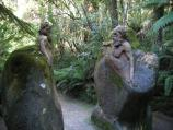 Mount Dandenong / William Ricketts Sanctuary, Mt Dandenong Tourist Rd / Path near entrance