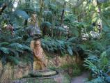 Mount Dandenong / William Ricketts Sanctuary, Mt Dandenong Tourist Rd / Sculptures amongst ferns