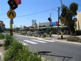 Mount Eliza / Commercial centre and shops / View north along Mount Eliza Way towards Canadian Bay Rd