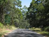 Mount Macedon / Mount Macedon Road / View south along Mt Macedon Rd towards Cameron Dr