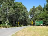 Mount Macedon / Camels Hump, Cameron Drive / View east along Cameron Dr at Camels Hump car park