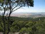 Mount Macedon / Camels Hump, Cameron Drive / View north-west at summit