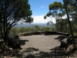 Mount Macedon / Memorial Cross, end of Cameron Drive / Major Mitchell Lookout