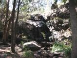 Mount Macedon / Stanley Park, Salisbury Road / View of falls from base