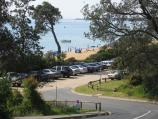 Mount Martha / Mount Martha Beach South, Kilburn Grove area / View along access road to beach, Esplanade at Kilburn Grove