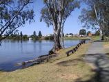 Nagambie / Buckley Park at end of Blayney Lane, Lake Nagambie / Walking track along lake to town centre