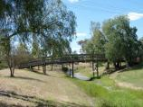 Natimuk / Park along Natimuk Creek, north side of Main Street and Wimmera Highway / Footbridge over Little Natimuk Creek