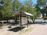 Natimuk / Park along Natimuk Creek, north side of Main Street and Wimmera Highway / Shelter and BBQ area, corner Main St and Lake Av