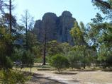 Natimuk / Centenary Park camping and picnic area, Centenary Park Road / View towards Mt Arapiles