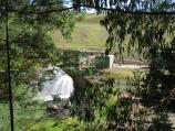 Neerim South / Tarago Reservoir Park / Water outlet into Tarago River at base of dam wall