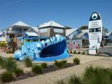 Newhaven / The Big Wave complex, corner Phillip Island Road and Bluebird Court / The Big Wave at entrance to Bluebird Ct