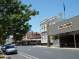 Nhill / Shops and commercial centre, Victoria Street and Nelson Street / View north-east along Victoria St towards MacPherson St