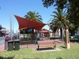 Nhill / Shops and commercial centre, Victoria Street and Nelson Street / Playground in centre of Victoria St
