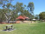 Nhill / Jaypex Park, Victoria Street / Picnic area and slide