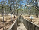 Nhill / Nhill Swamp Boardwalk between Jaypex Park and Lake Nhill / Entrance to boardwalk at Jaypex Park