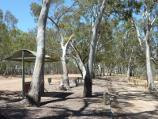 Nhill / Northern side of Lake Nhill at boat ramp off Campbell Street / BBQ and picnic area at car park along lake foreshore
