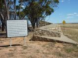 Nhill / Western Highway, south-west of Nhill / Monument to poet John Shaw Neilson, corner Western Hwy and Dow Well Rd