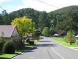 Noojee / Town centre, Bennett Street and Henty Street / View north-east along Henty St
