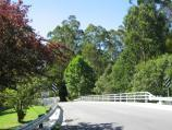 Noojee / Parkland along La Trobe River, east side of Bennett Street / View north along bridge over La Trobe River