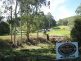 Noojee / Loch Valley Road / View towards Outpost Retreat from near La Trobe River