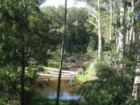 Noojee / Noojee Hotel and surroundings, Mount Baw Baw Road / La Trobe River viewed from Mt Baw Baw Rd, west of Noojee Hotel