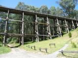 Noojee / Trestle Bridge, Mount Baw Baw Road / At car park at base of trestle bridge