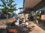 Ocean Grove / Shops and commercial centre, The Terrace and Hodgson Street / View east along The Terrace