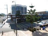Ocean Grove / Shops and commercial centre, The Terrace and Hodgson Street / View north along Presidents Av at The Terrace