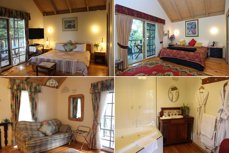 Olinda Country Cottages - spa cottages
