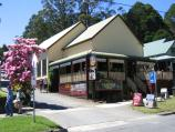 Olinda / Commercial centre and shops, Mt Dandenong Tourist Road at Monbulk Road / Olinda Terrace and Pie In The Sky Cafe, Monbulk Rd