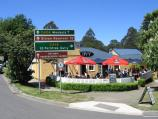Olinda / Commercial centre and shops, Mt Dandenong Tourist Road at Monbulk Road / The Ivy, corner Monbulk Rd and Mt Dandenong Tourist Rd