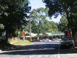 Olinda / Commercial centre and shops, Mt Dandenong Tourist Road at Monbulk Road / View north-west along Mt Dandenong Tourist Rd towards Monbulk Rd