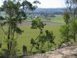 Orbost / Grandview Lookout, Newmerella / View north-east towards Snowy River and Orbost town centre